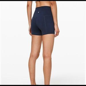 lululemon athletica Shorts - Lululemon align spandex shorts 4 inch size 4